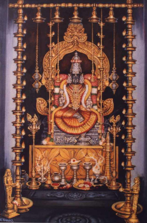 Goddess Lalithambigai Lalitha Sahasranamam with meanings