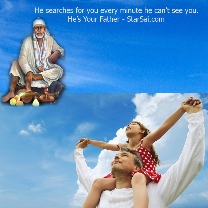 shirdi saibaba father