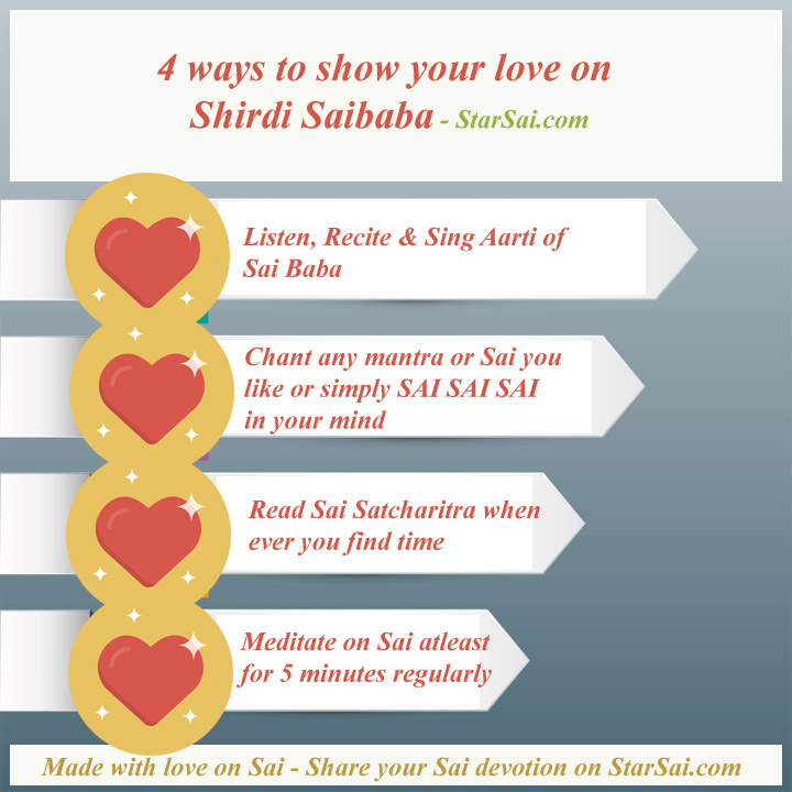 Shirdi Saibaba Love