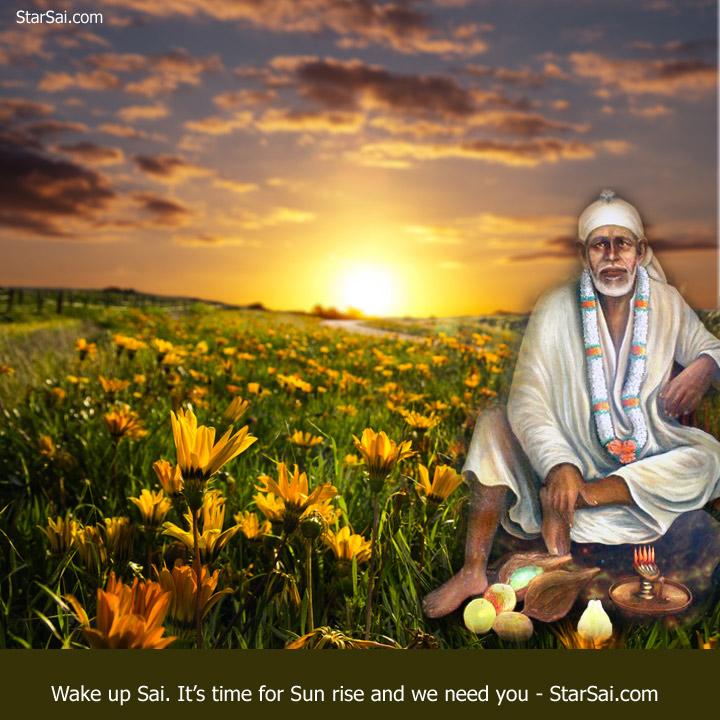 wake up shirdi saibaba