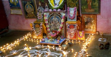 Saibaba lamps pooja