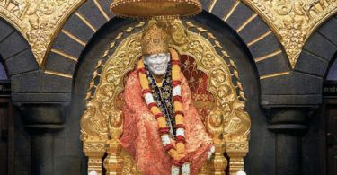 Shirdi Saibaba orange