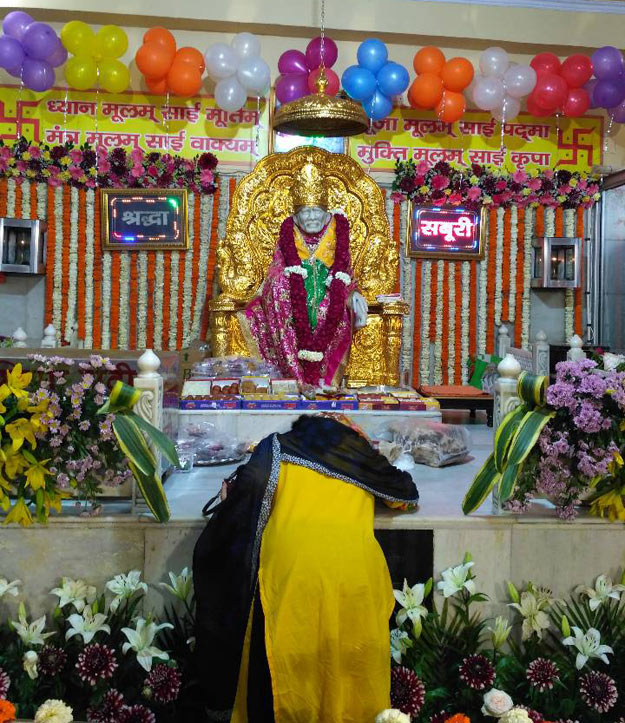 Beautiful Saibaba temple