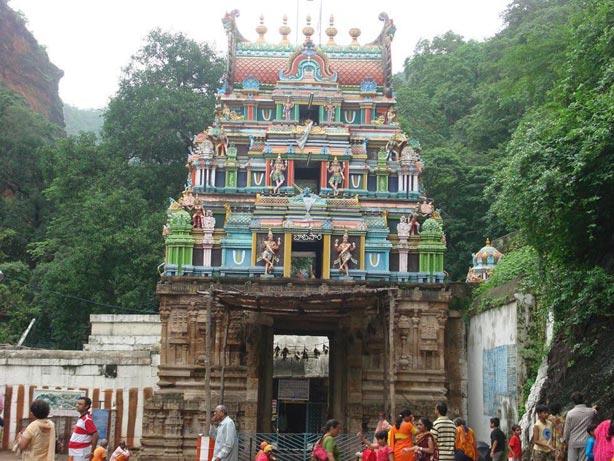 Ahobilam Narasimha temple Gopuram
