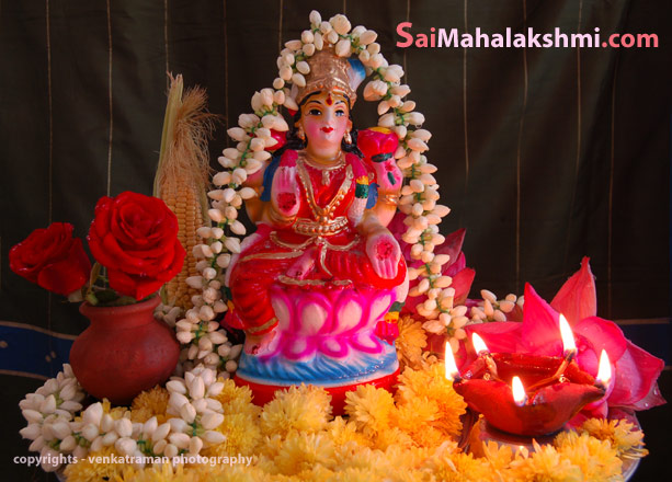 Vaibhava Lakshmi Pooja for Goddess Mahalakshmi