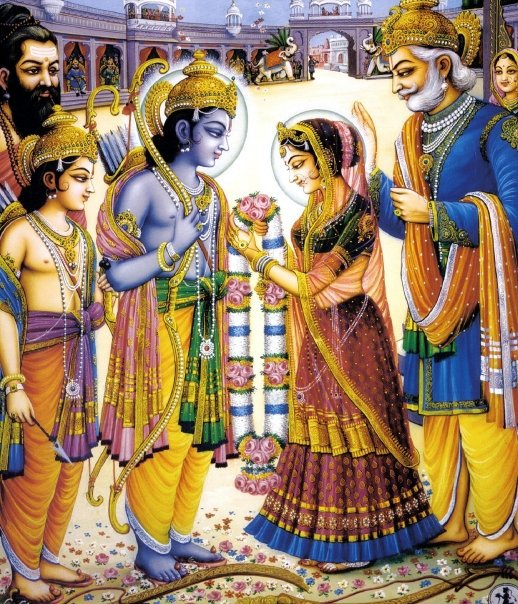 rama sita getting married