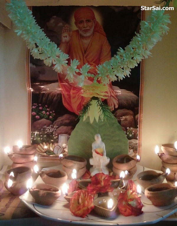 shirdi saibaba pooja