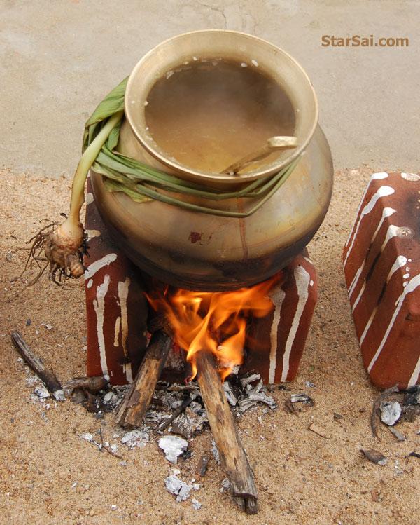 sweet tamil pongal