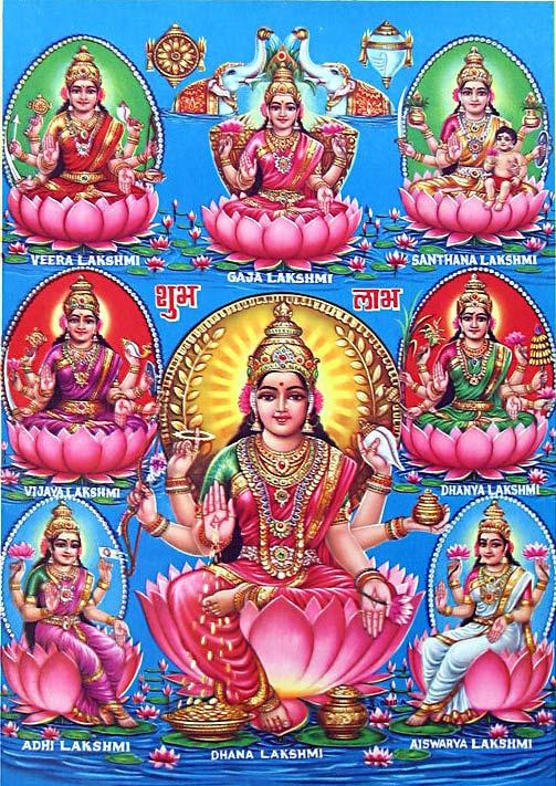 Varalakshmi Vratam - Goddess Lakshmi is pleased with Women's