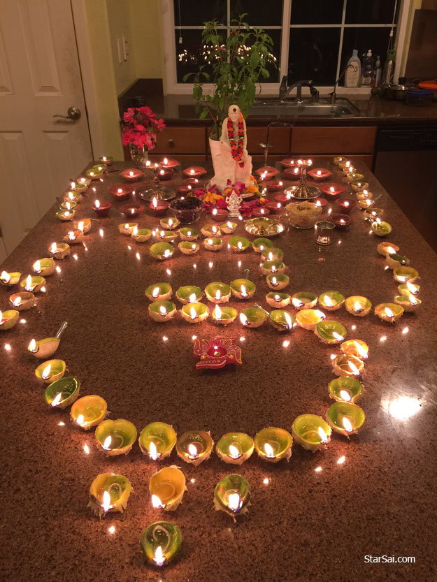 shirdi saibaba divine pooja