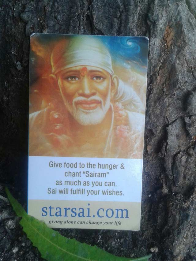 Experiencing Shirdi Saibaba under a Neem tree