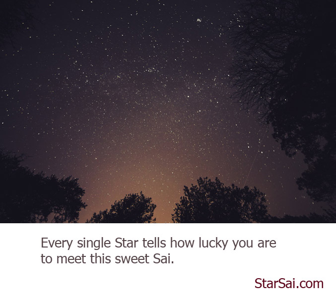 Come, lets talk with Stars
