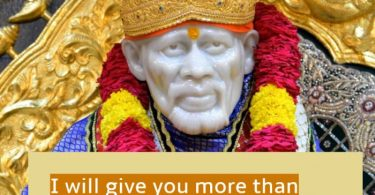 Shirdi Saibaba Job