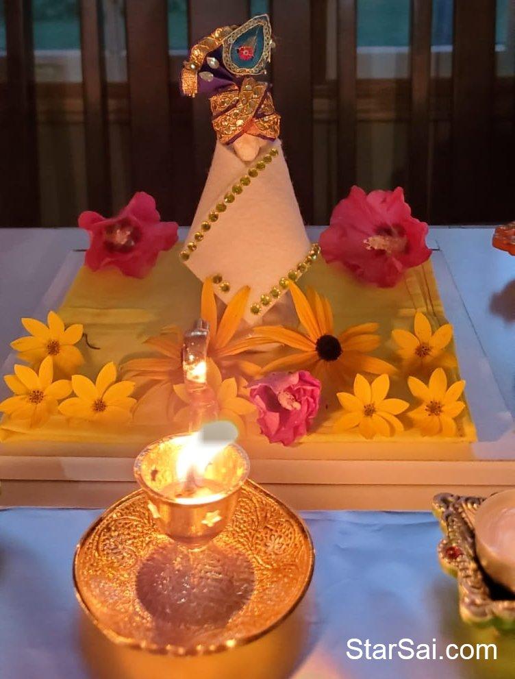 108 Lamps Puja Photos