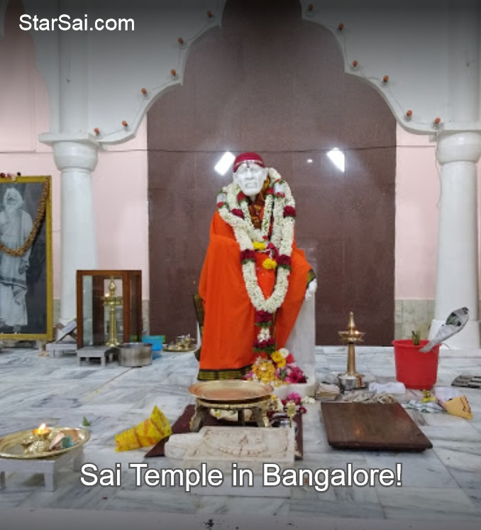 Shirdi Sai baba temple in Malleswaram