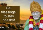 Saibaba blessings to heal fever