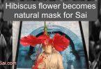 Shirdi Sai Baba with natural mask
