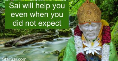 Shirdi Saibaba blessings