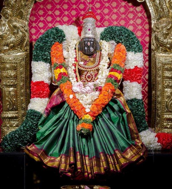Goddess Lakshmi in USA Temples