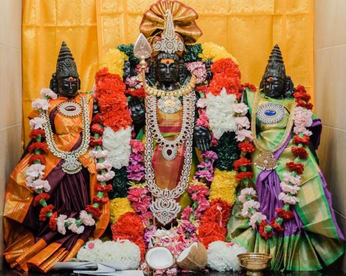 Lord Murugan in Utah Hindu Temple, United States of America