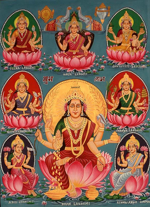 Ashta Lakshmi in dream