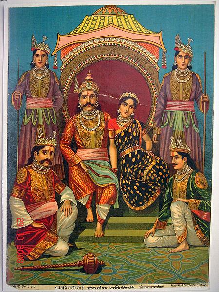 Panchakanya - Ahalya,Draupadi,Kunti,Tara, Mandodari