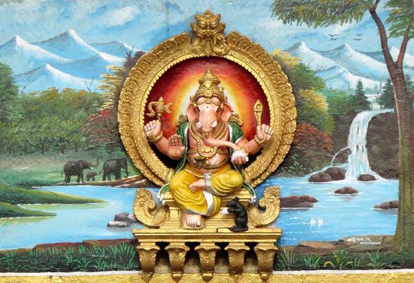 lord ganesha chamunda temple