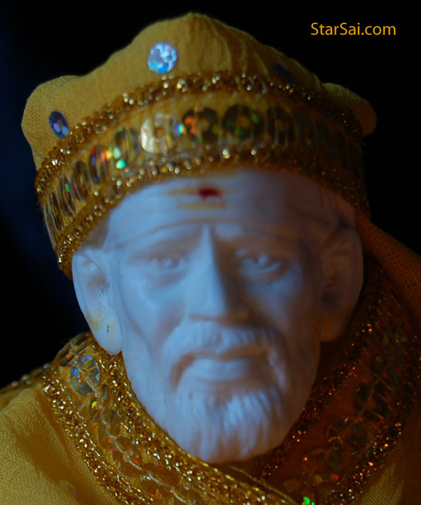 Does Sai Baba make your wishes come true? can we talk to him