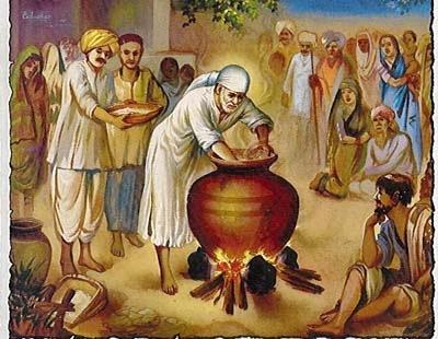 shirdi sai baba goddess annapurani